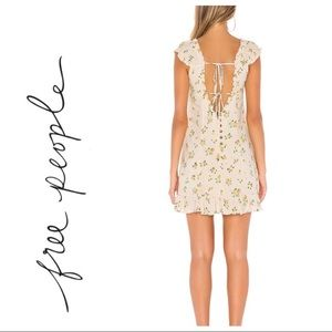 FREE PEOPLE NEW Cactus Flower Combo Dress